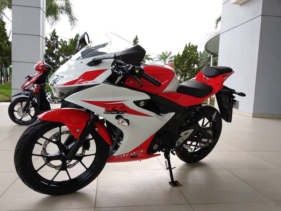Inikah Livery Baru Suzuki Gsx R150